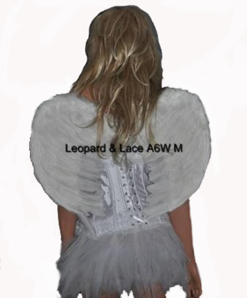 White Angel / Fairy Feather Wings Med Size 60cm