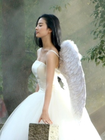 EXTRA LARGE White Angel Fairy Feather Wings 100cm