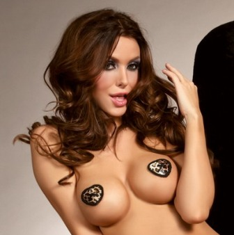 Leopard Print Nipple Cover / Pasties