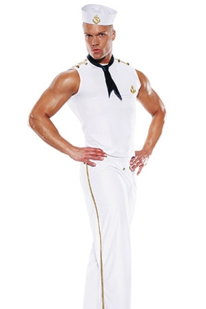 Mens Sailor / Navy Costume