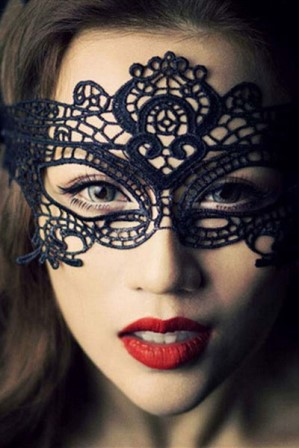 Sexy Black Lace Masquerade Mask